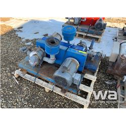 (2) INDUSTRIAL AIR PUMPS