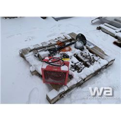 SKID STEER CHAINS, SUMP PUMP