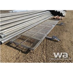 "46"" X 18 FT. FLOOR GRATING"