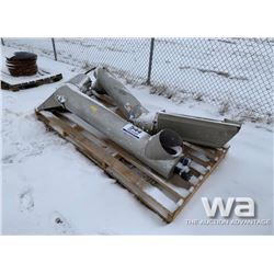 (2) MICHELS TRAILER TRANSFER AUGERS