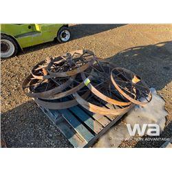 ANTIQUE STEEL WHEELS