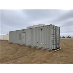 1996 8 X 40 FT. SKIDDED SHIPPING CONTAINER