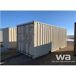 2016 8 X 20 FT. SHIPPING CONTAINER