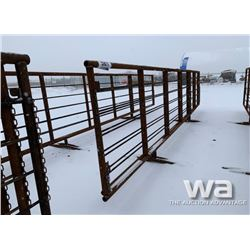 FREESTANDING LIVESTOCK PANEL WITH 8 FT. GATE