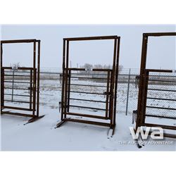 (2) FREESTANDING LIVESTOCK 5 FT. GATES
