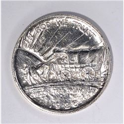 1926-S OREGON TRAIL COMMEMORATIVE HALF, GEM BU
