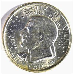 1936 CLEVELAND COMMEM HALF DOLLAR, GEM BU BLAZER!