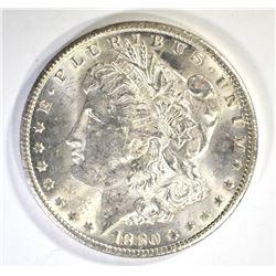 1880-CC MORGAN DOLLAR, CH BU BETTER DATE