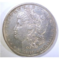 1878 8TF MORGAN DOLLAR, CH BU