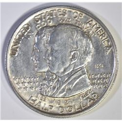 1921 ALABAMA 2x2 COMMEM HALF DOLLAR, CH BU