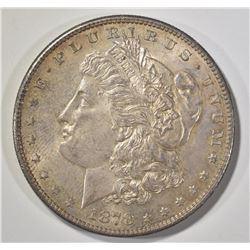 1878-S MORGAN DOLLAR GEM BU