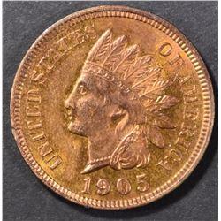 1905 INDIAN CENT CH/GEM BU