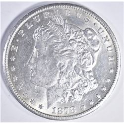 1878-CC MORGAN DOLLAR, CH BU