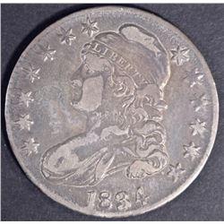 1834 BUST HALF DOLLAR VF/XF