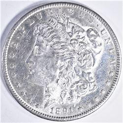 1891 S MORGAN DOLLAR CH BU