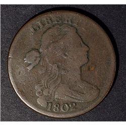 1802 LARGE CENT, CH FINE