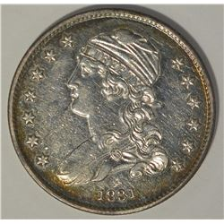 1831 CAPPED BUST QUARTER CH BU PROOF-LIKE RARE!!