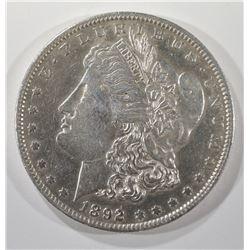 1892-O MORGAN DOLLAR BU