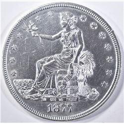 1877 TRADE DOLLAR BU