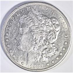 1884 S MORGAN DOLLAR  SEMI PL