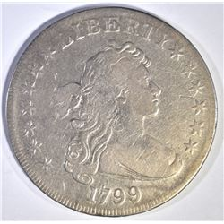 1799 BUST DOLLAR  VF AU/BU