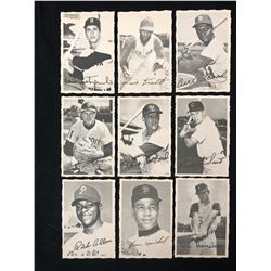 1969 Topps Deckle Edge Baseball Cards