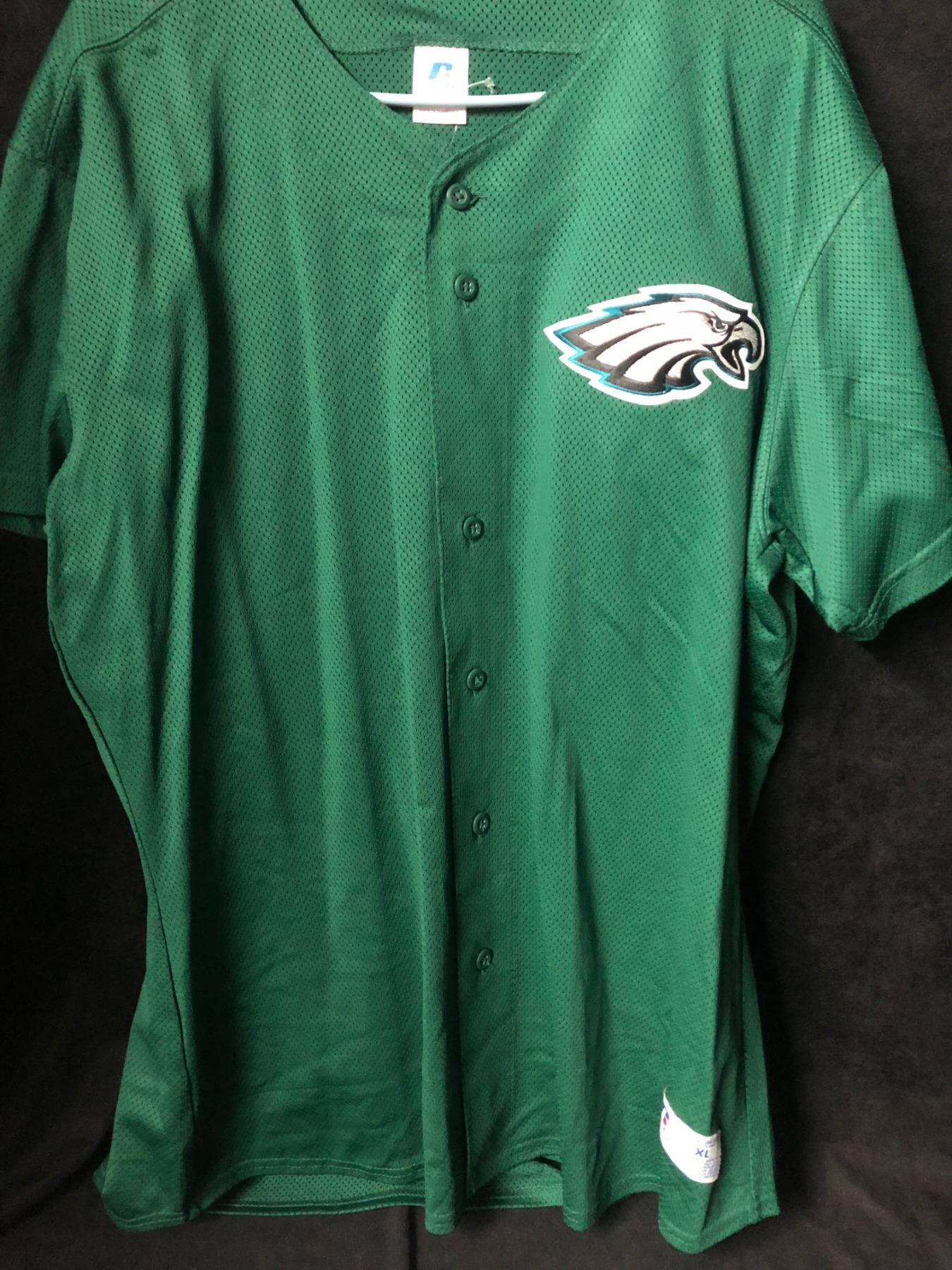 philadelphia eagles baseball jersey