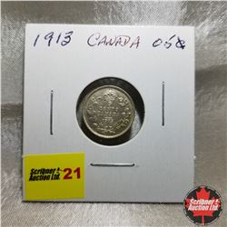 Canada Five Cent: 1913