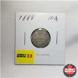 Canada Ten Cent : 1888