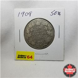 Canada Fifty Cent : 1909