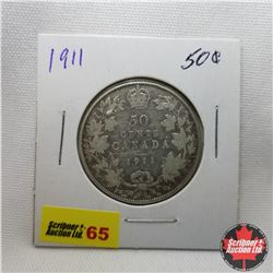 Canada Fifty Cent : 1911
