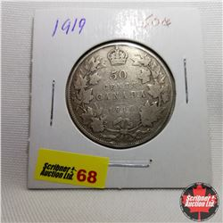 Canada Fifty Cent : 1919