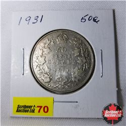 Canada Fifty Cent : 1931