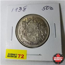 Canada Fifty Cent : 1938