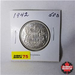Canada Fifty Cent : 1942