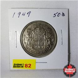 Canada Fifty Cent : 1949