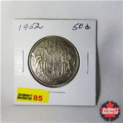 Canada Fifty Cent : 1952