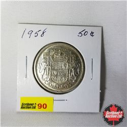 Canada Fifty Cent : 1958