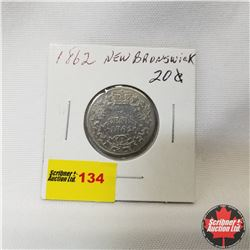 New Brunswick Twenty Cent : 1862
