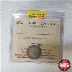 Newfoundland Ten Cent : 1888