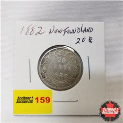 Newfoundland Twenty Cent : 1882