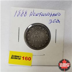 Newfoundland Twenty Cent : 1888
