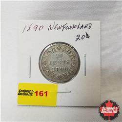Newfoundland Twenty Cent : 1890