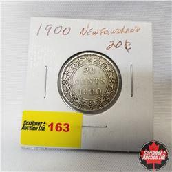 Newfoundland Twenty Cent : 1900