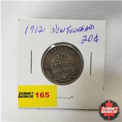 Newfoundland Twenty Cent : 1912