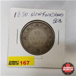 Newfoundland Fifty Cent : 1870