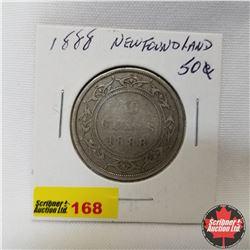 Newfoundland Fifty Cent : 1888