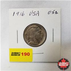 USA Five Cent : 1916