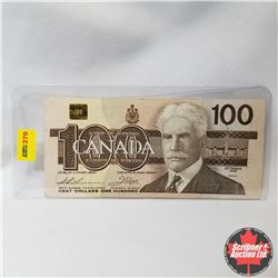 Canada $100 Bill 1988 Replacement (Thiessen/Crow S/N#AJX3348185)