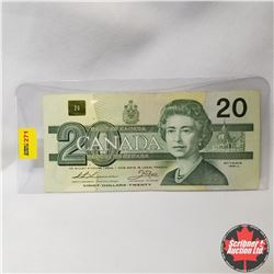 Canada $20 Bill 1991 Replacement (Thiessen/Crow S/N#AIX1922682)